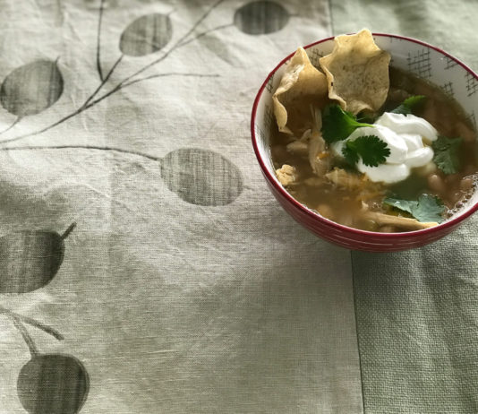 grafted farms bone broth white chicken chili