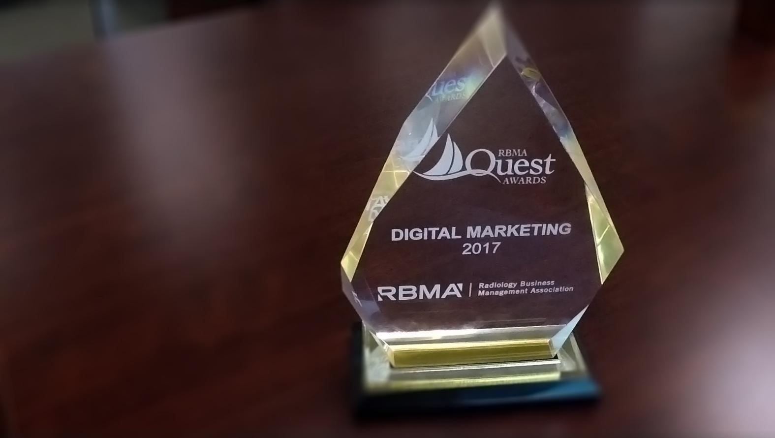 Digital Marketing Award from RBMA