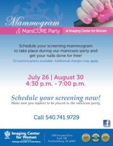 MammogramManicurePartyBlueFlyerJul_Aug