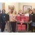mif staff delivering care boxes to cancer patients