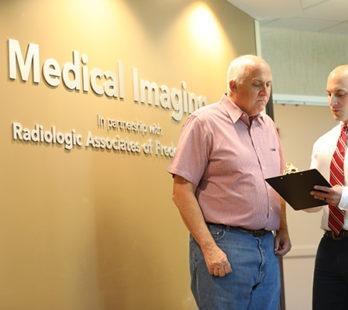a patient saving money at medical imaging of fredericksburg